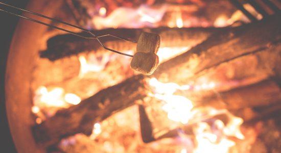 Mosaïque Café: café, jus et feux de camp