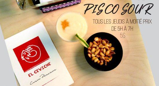 Jeudi de Pisco Sour | El Ceviche