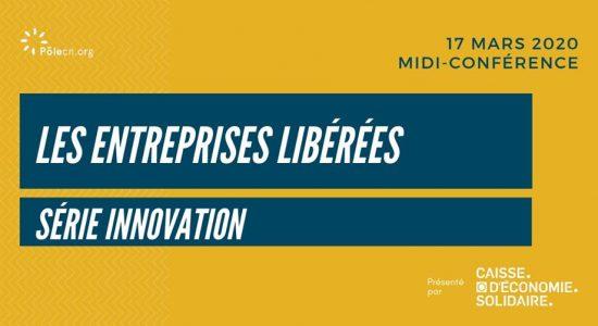 Midi-conférence Les entreprises libérées