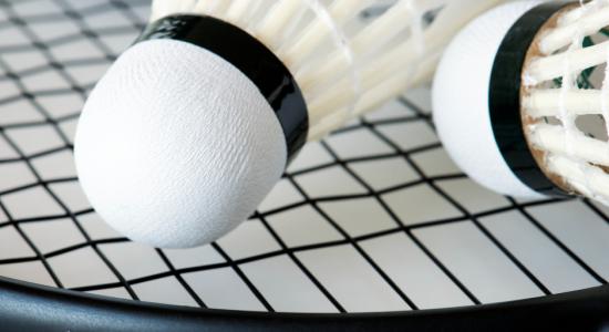 Badminton libre en simple au Centre Durocher