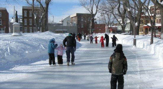 Patinoires et sentiers de glace – Centre Durocher