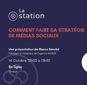 Comment faire sa stratégie des médias sociaux