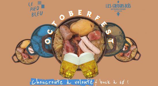 OKTOBERFEST   Pied bleu (Le)