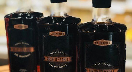 Le sirop d'érable vieilli en fût de whisky maintenant disponible | Café Les Cousins