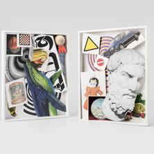 Boîtier coloré   Atelier de collage et d'assemblage