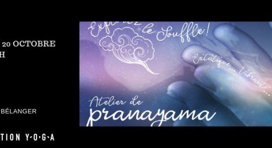 Atelier – Pranayama : explorer le souffle
