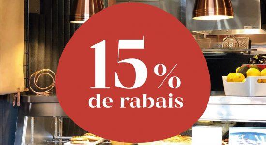 15% de rabais pour votre prochain achat chez Il Cuginetto | Café Les Cousins