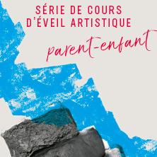 Séries de cours d'arts plastiques pour enfants | Éveil artistique parent-enfant (3 à 5 ans)