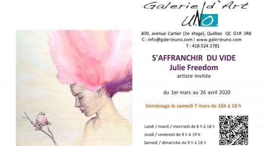 S'affranchir du vide | Artiste invitée : Julie Freedom