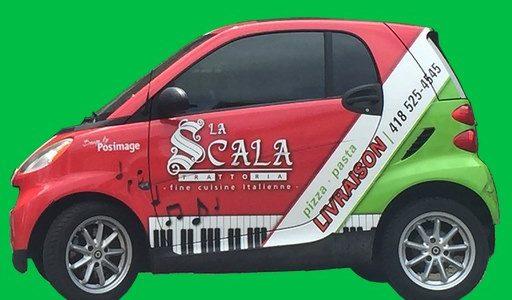 Menus disponibles en livraison ou pour emporter | La Scala