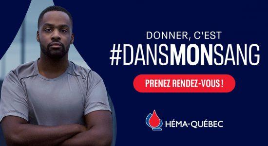Collecte de sang à Québec