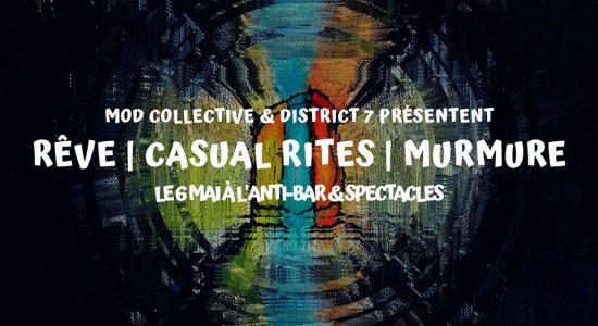 Rêve (USA art-rock), Casual Rites, Murmure