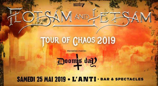 Flotsam and Jetsam avec Dooms's Day avec Vedic