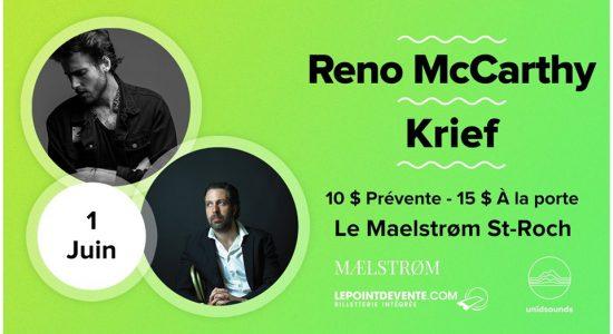 Reno McCarthy + Krief