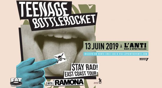 Teenage Bottlerocket avec Ramona et Jeffrey Lost Control