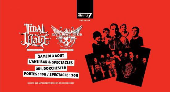 Tidal Wave – Hommage à Trivium et Parkway Drive et +