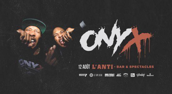 ONYX (Sticky Fingaz, Fredro Starr)