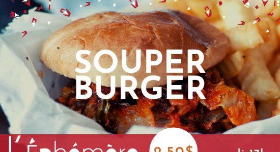Souper burger de l'Éphémère