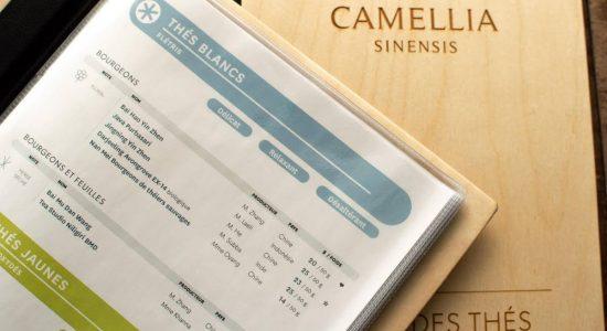 Nouveau menu en boutique | Camellia Sinensis Maison de thé