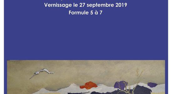 Exposition solo Danielle Boulet   Douce Quiétude