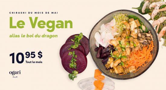 Chirashi mois de mais | Ogari-San Sushi