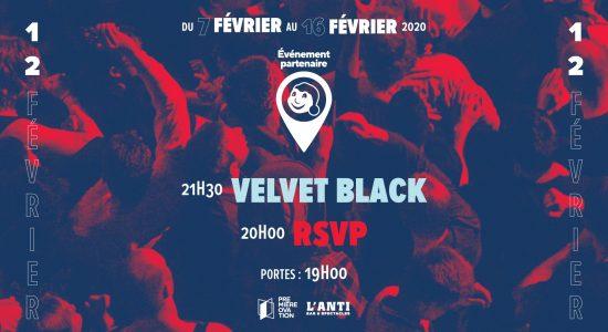 RSVP et Velvet Black