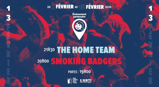 Smoking Badgers et The Home Team