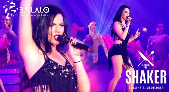 Samedi Latino   «Báilalo» avec Miranda Martin