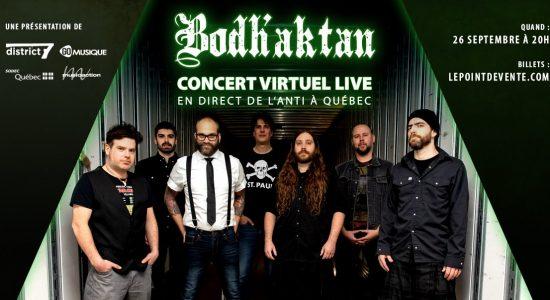 Bodh'aktan – Concert virtuel
